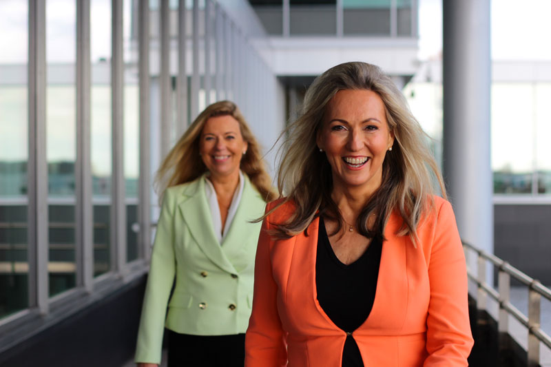 Sonja and Ann-Marie, Leader Potential Group´s organizational consultants.